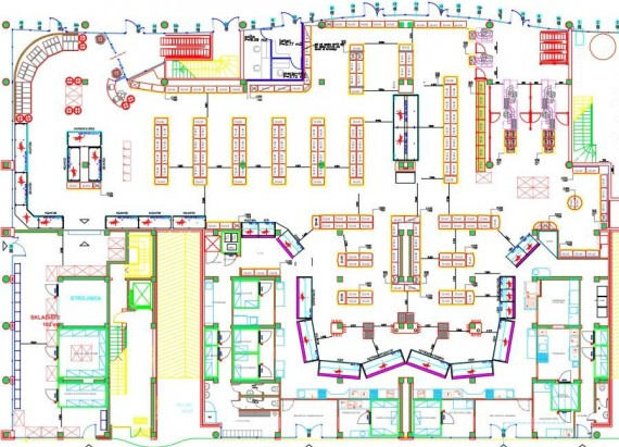Macro space management for Retail space planning software